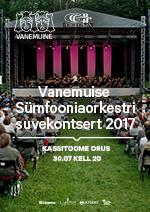 Vanemuise Sümfooniaorkestri suvekontsert 2017