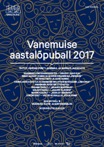 NEW YEAR'S EVE BALL AT THE VANEMUINE 2017