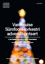 Vanemuise Sümfooniaorkestri advendikontsert 2017