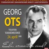GEORG OTS: Elu, armastan sind!