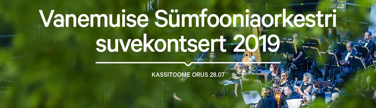 e5d92eaed4e Vanemuise Sümfooniaorkestri suvekontsert 2019 - Teater Vanemuine